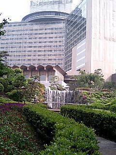 ニューオータニ、日本庭園